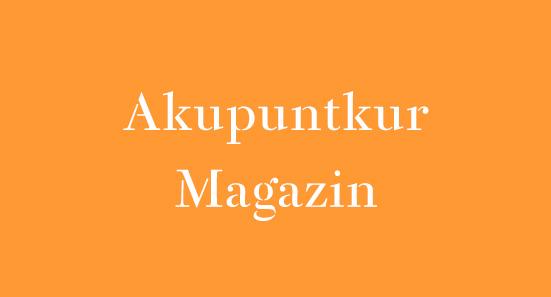 Akupunktur Magazin für Patienten