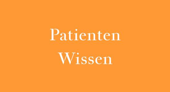 Akupunktur - Patienten - Wissen